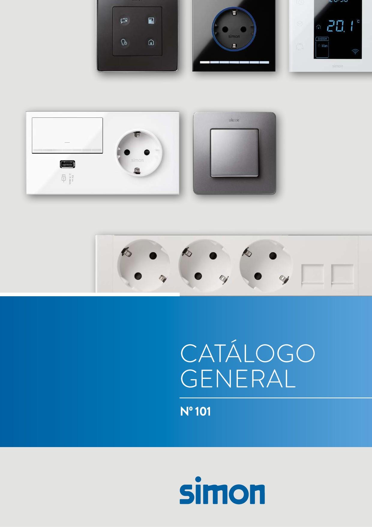Simon - Catálogo General 2018