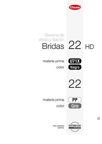 Unex - Bridas 22pp