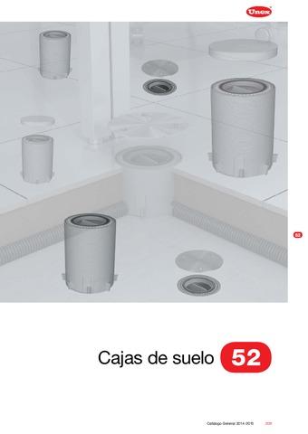 Unex - Caja de suelo 52 en U24X