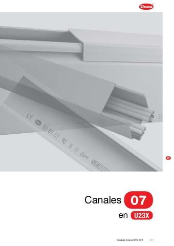 Unex - Canal 07 en U23X