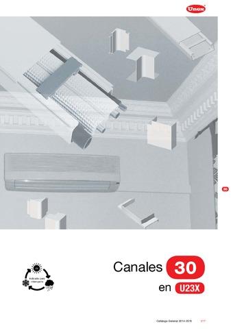 Unex - Canal 30 en U23X color blanco