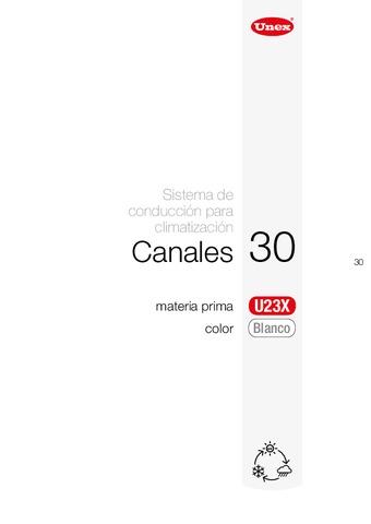 Unex - Canal 30 u23x blanco