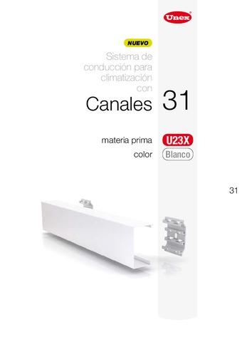 Unex – Canal 31 en U23X color blanco