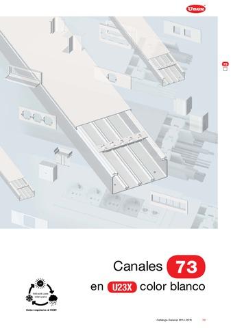 Unex - Canal 73 en U23X color blanco