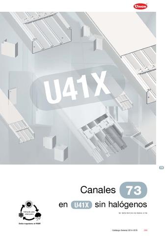 Unex - Canal 73 en U41X sin halógenos