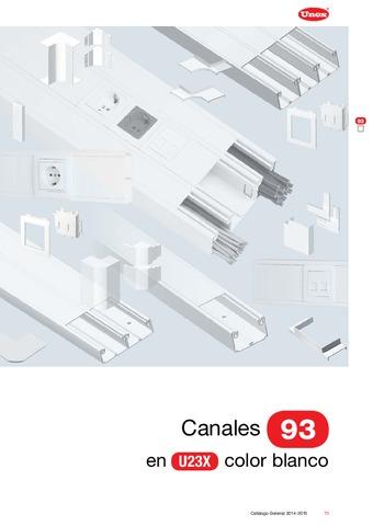 Unex - Canal 93 en U23X color blanco