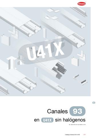 Unex - Canal 93 en U41X sin halógenos