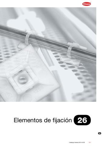 Unex - Elementos de fijación 26 en U60X