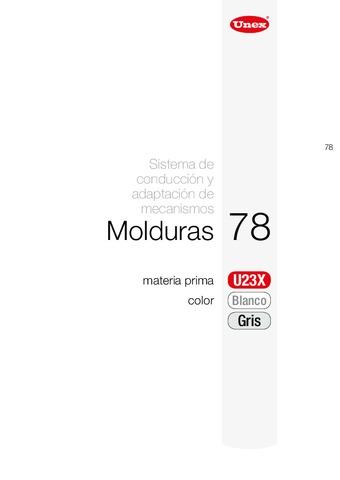 Unex - Moldura 78 u23x blanco