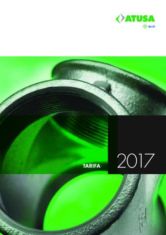 Atusa - Tarifa 2017