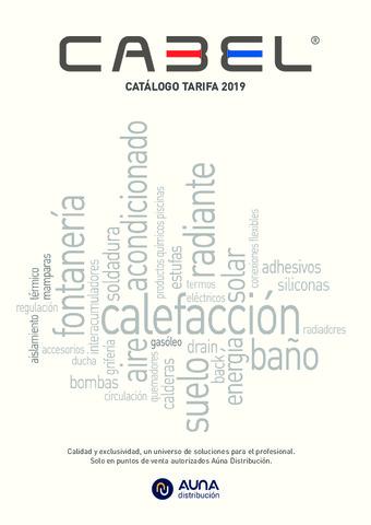 Cabel - Tarifa 2019