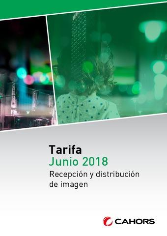 Cahors - Tarifa Junio 2018