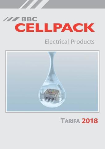 Cellpack - Tarifa 2018
