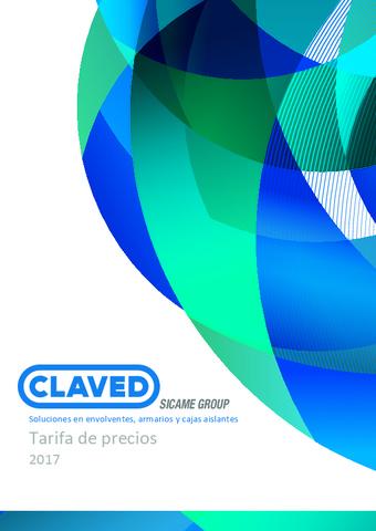 Claved - Tarifa 2017