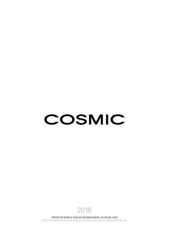 Cosmic - Tarifa 2018