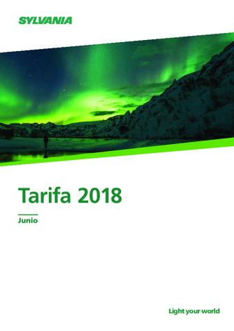 Sylvania - Tarifa de precios 2018