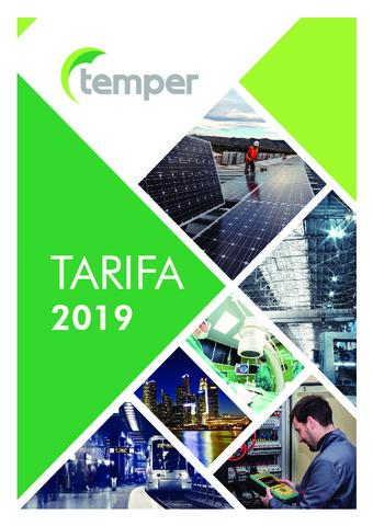 Temper - Tarifa 2019
