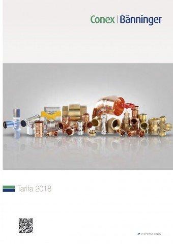 Conex Bänninger - Tarifa 2018