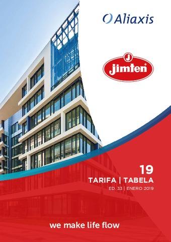 Jimten - Tarifa 2019