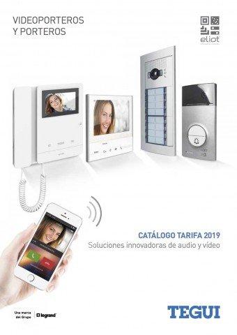 Tegui - Catálogo / Tarifa videoporteros porteros