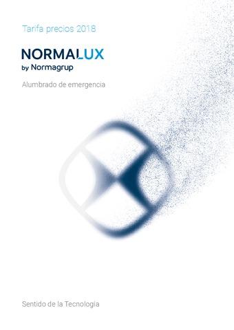 NormaGrup – Catálogo – Tarifa NormaLux – Alumbrado de emergencia