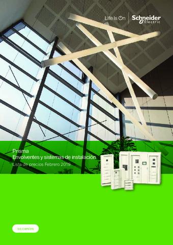 Schneider - Prisma. Envolventes y sistemas de instalación