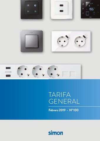 Simon - Tarifa Febrero 2019