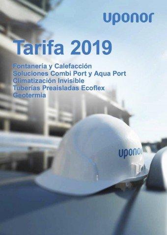 Uponor -Tarifa 2019